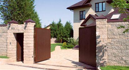 Распашные ворота на заказ
