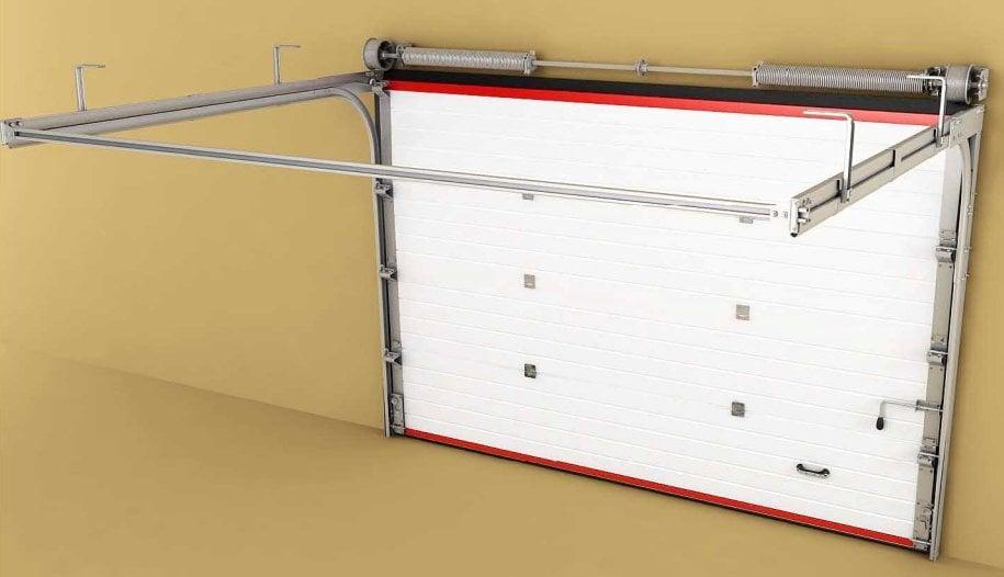 гаражные подъёмные секционные ворота