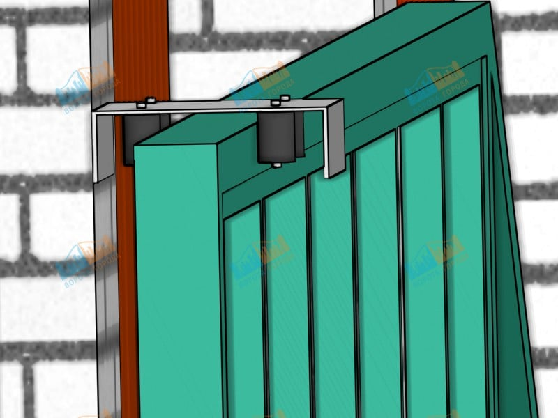 Самоделкин ворота распашные распашные сварные ворота фото